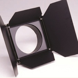 ETC S4 PAR Barndoor, Black/White