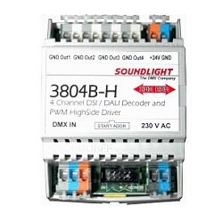 SOUNDLIGHT DMX - DSI/DALI Decoder