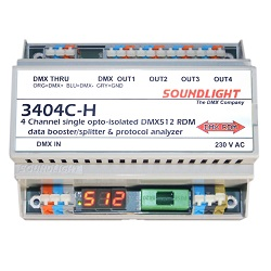 SOUNDLIGHT DMX Booster/Splitter